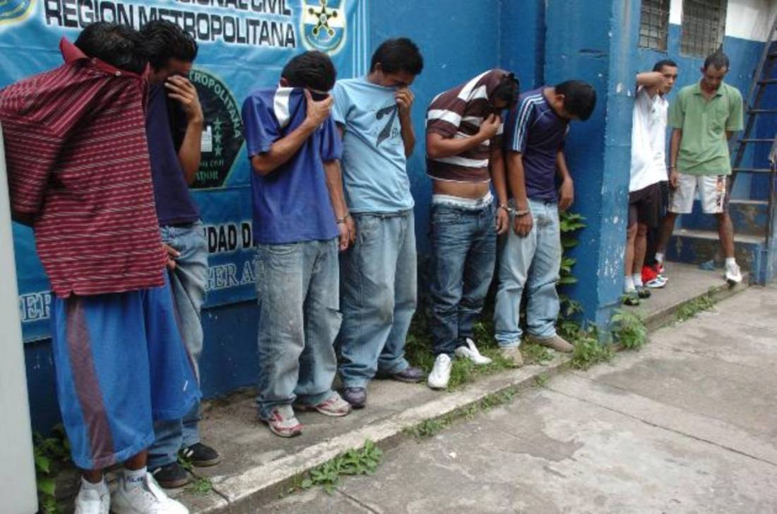 Capturados MS-13