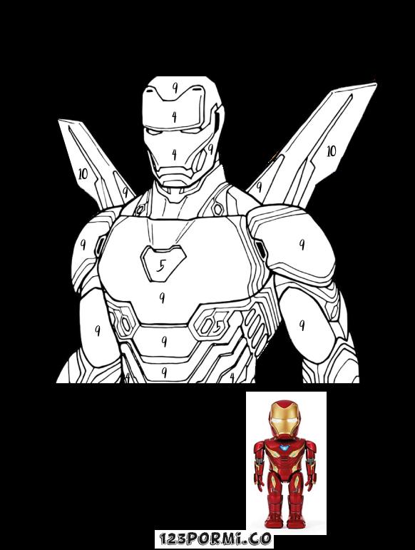 Pinta a Ironman
