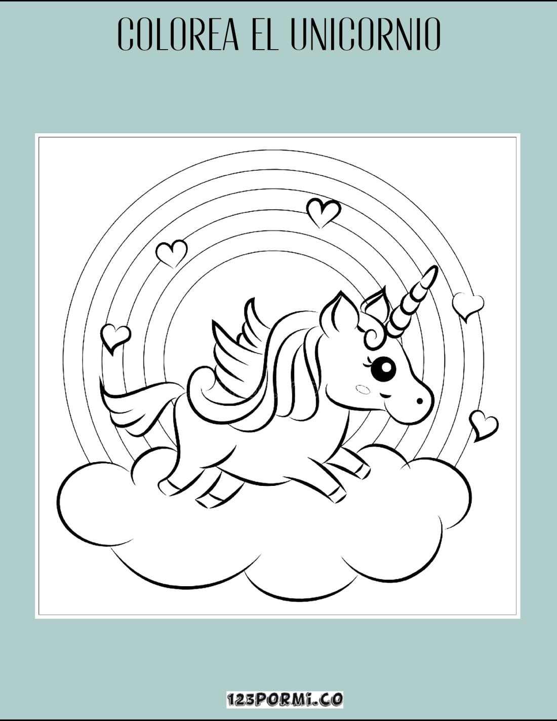 colorea el unicornio_Mesa de trabajo 1